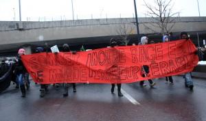 Manif contre le sommet, le 25 fevrier, 2012
