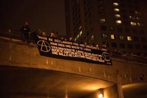 Manif du nuit, le 5 mars, 2013