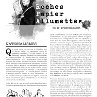 Roches, Papier, Allumettes N02