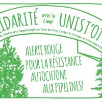Solidarité avec le camp Unist'ot'en