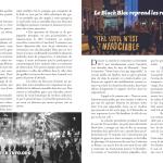 Le Black Bloc reprend les rues de Montréal