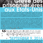 9 septembre: Grève des prisonnier.ères aux États-Unis