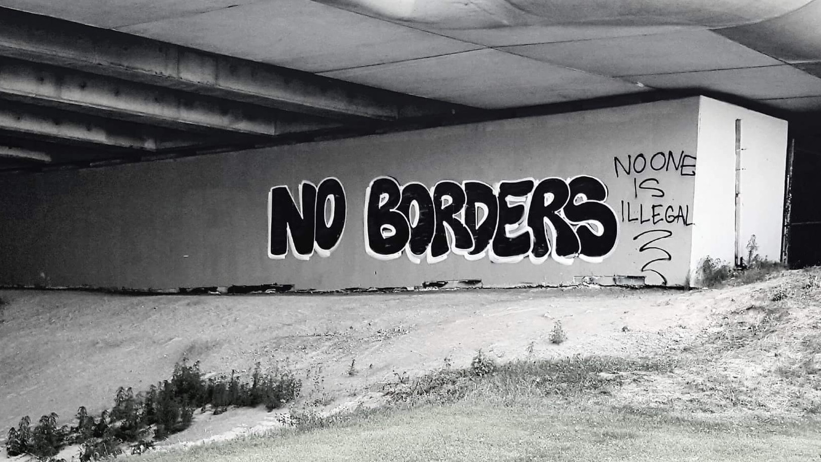 No Borders: No One Is Illegal