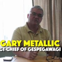 Entrevue avec Gary Metallic Sr.: Nous appuyons le blocage et nous pensons que beaucoup de nos gens l'appuient