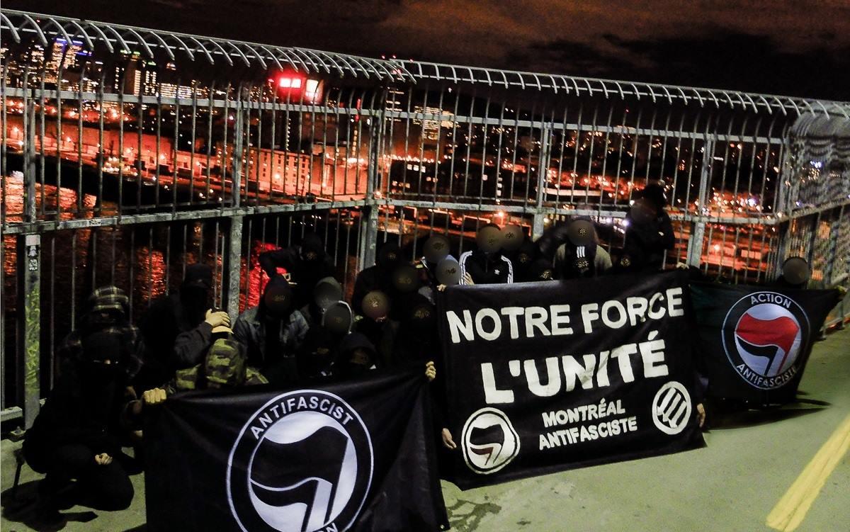 Solidarité avec les réfugié-e-s, les migrant-e-s et les militant-e-s antifascistes