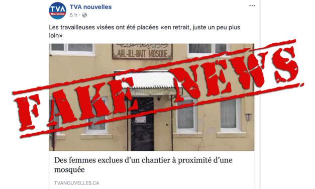 TVA's fake news and the islamophobic frenzy on the far right