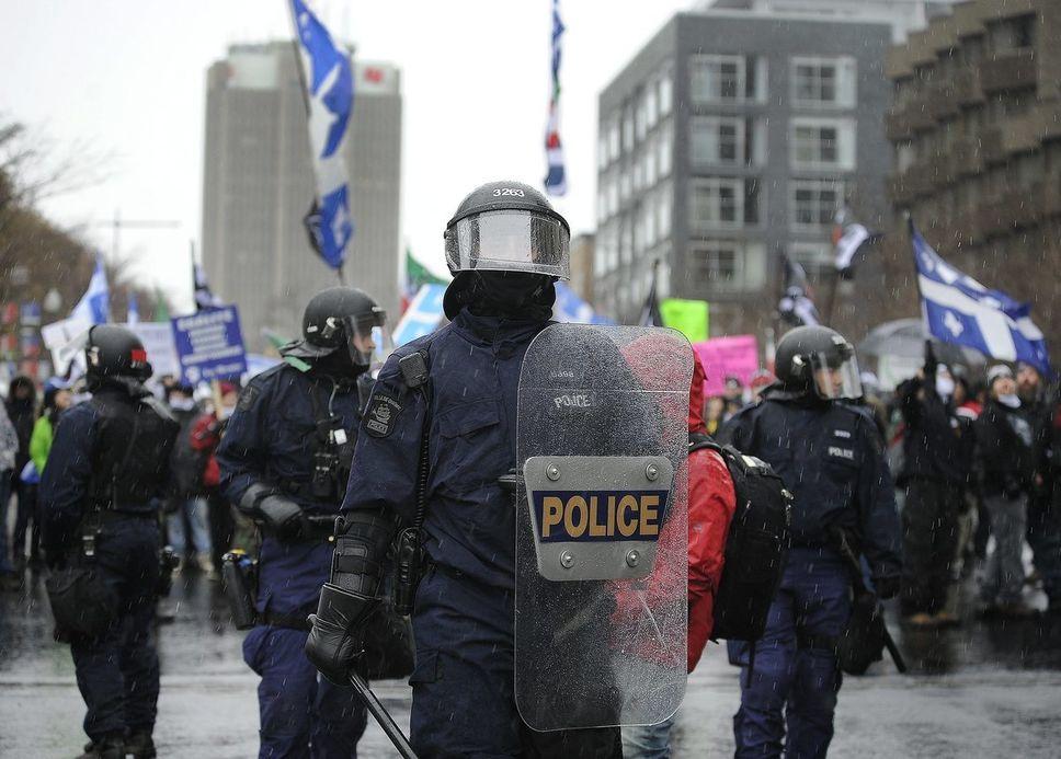 Bilan de la contre-manifestation du 25 novembre à Québec