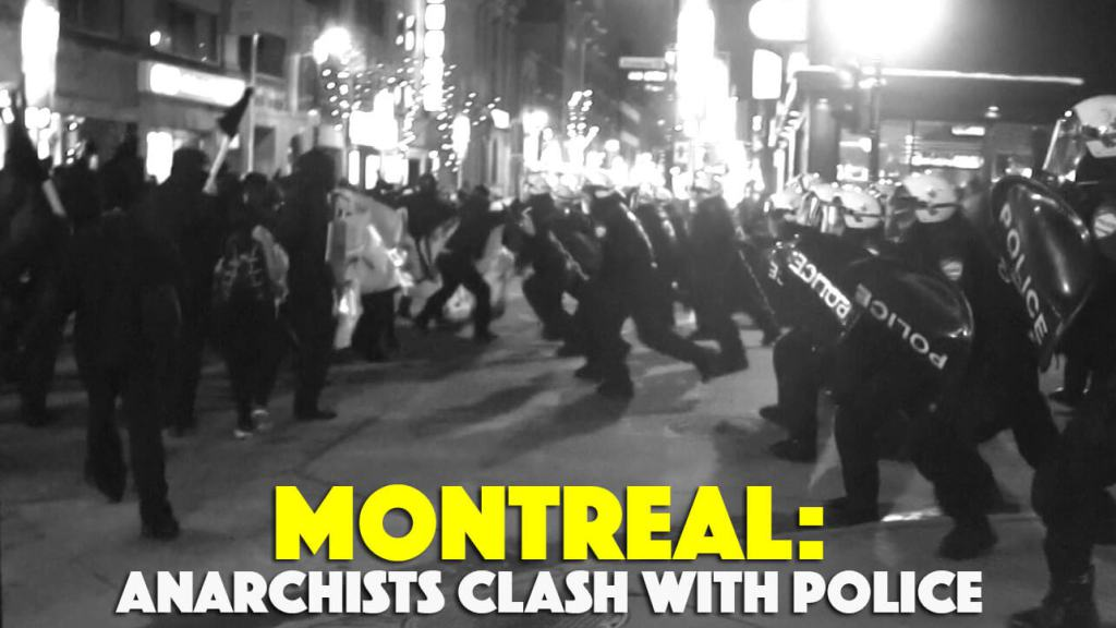 March 15th: Anarchists Clash with Police